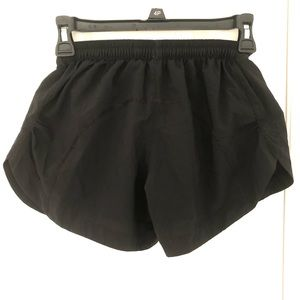 Mountain Hardwear Black Running Shorts